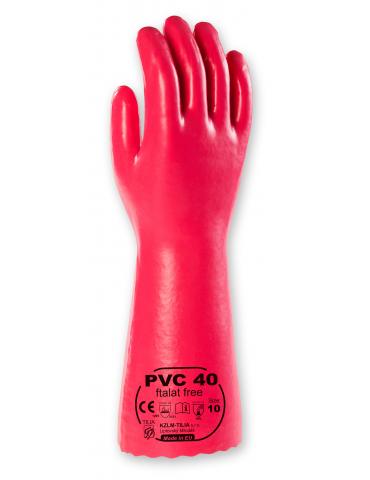 Rukavice PVC 40 ftalat free