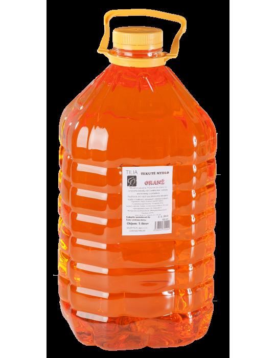 Tekuté mydlo Orange