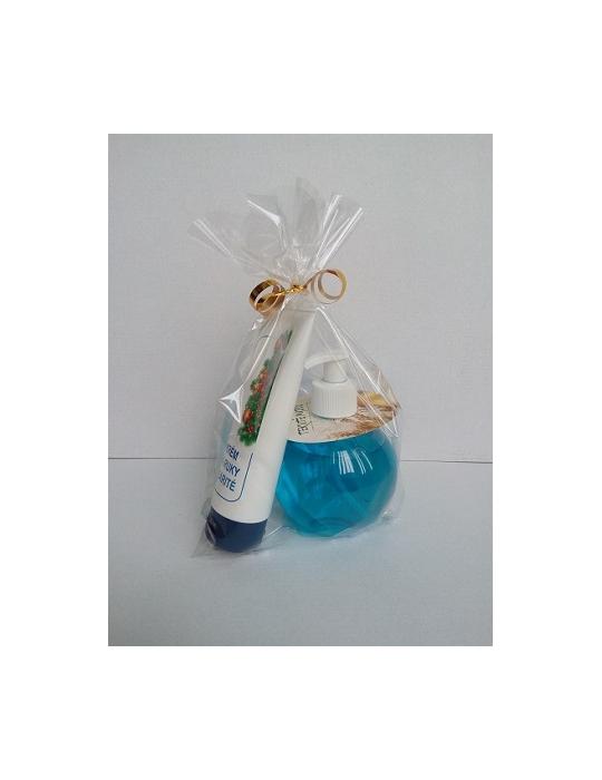 Modrý kozmetický balíček