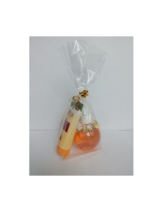 Oranžový kozmetický balíček