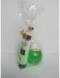 Zelený vianočný balíček