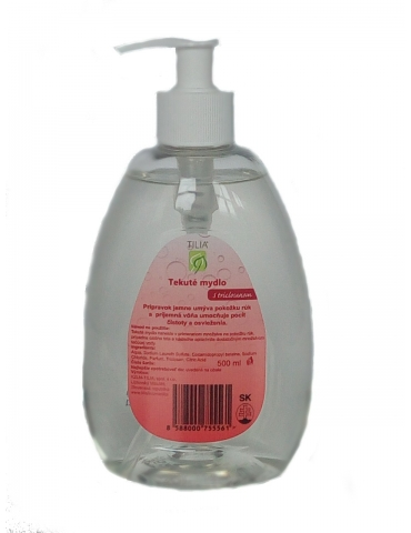 Tekuté mydlo s Triclosanom