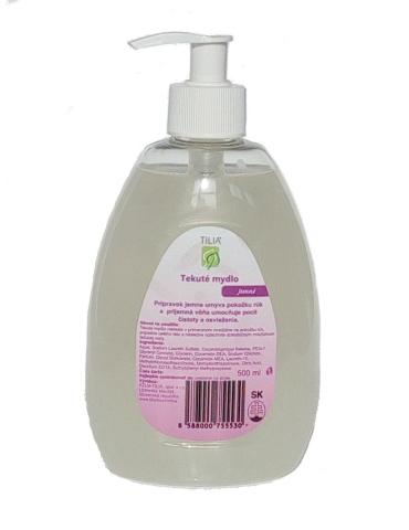 Tekuté mydlo jemné