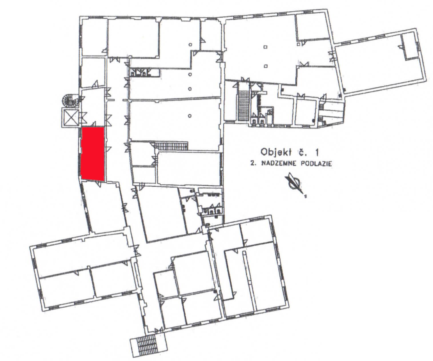 Pôdoris - priestor 1- priestory na prenájom LM